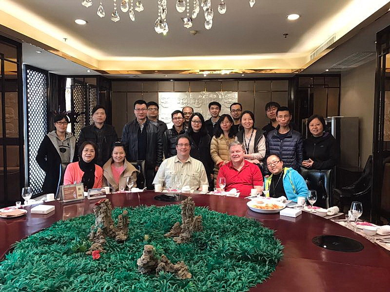 Team celebration event with Xi'an IBM QA and Dev Teams