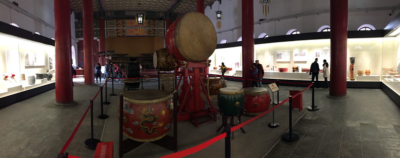 Displays Inside the Drum House
