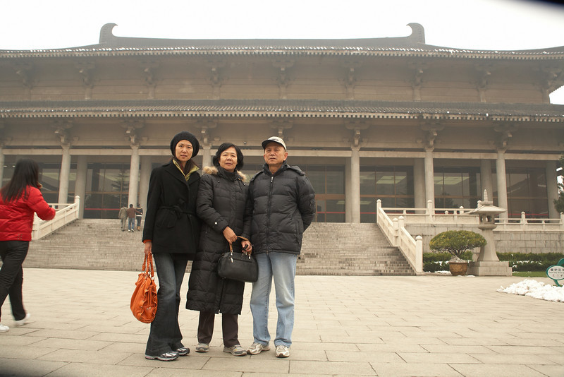 The Shaanxi Museum inside of Xi'an.
