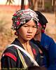 Young Akha Girl At BiWeekly Market in Xieng Kok, Laos