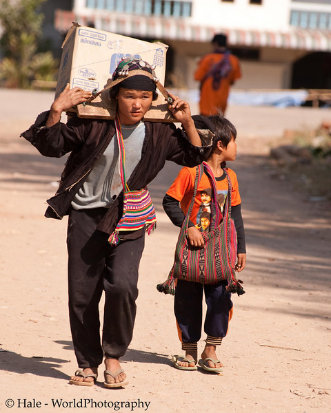 Going Home to the Akha Village Outside of Xieng Kok