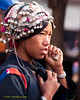 Akha Woman At Xieng Kok Market