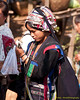 Young Akha Woman At Xieng Kok Market