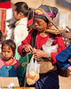 Mother and Daughter At the Xieng Kok Market, Luang Namtha Province, Laos