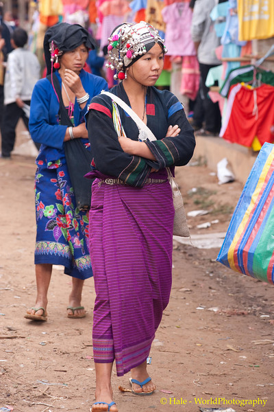 Xieng Kok Laos Market Scene