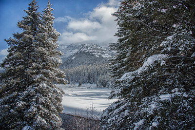 Snowy Pebble Creek