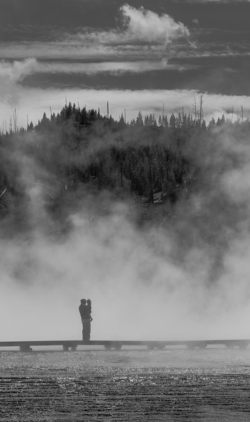 FATHER & CHILD in Yellowstone