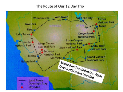 YMT National Parks of the Golden West Tour