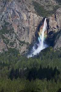 Rainbow over Bridalveil
