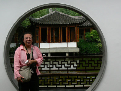 Guo Garden - pictures with people