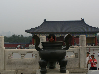 Temple of Heaven, Beijing - pictures with people