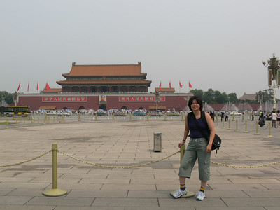 Tienanmen Square - pictures with people