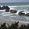 "May 4, 2010.  This is the ""I was there"" picture of Seal Rock.  I walked down on the beach.  It was quiet with little wind, perfectly wonderful."