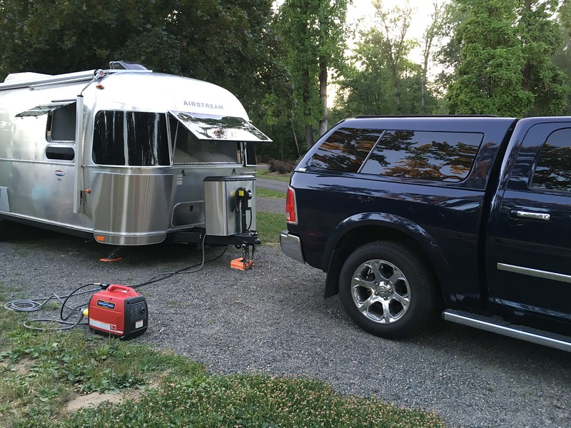 Honda propane generator