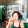 Having a mid-day drink at Popular Restaurant at 19th Street