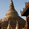 Shwe Dagon Pagoda in the day