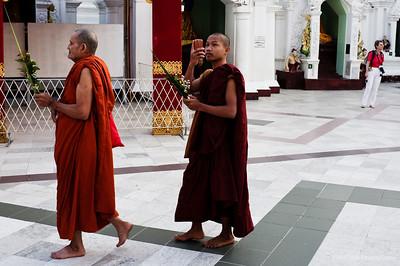 Yangon, Burma - Jan 2014
