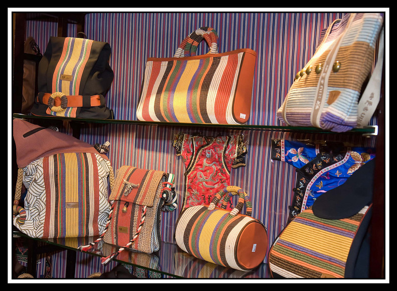 Night Market - ladies' handbags...