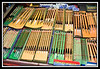 Night Market - Chinese brushes...