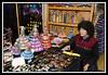 Night Market - doll vendor...