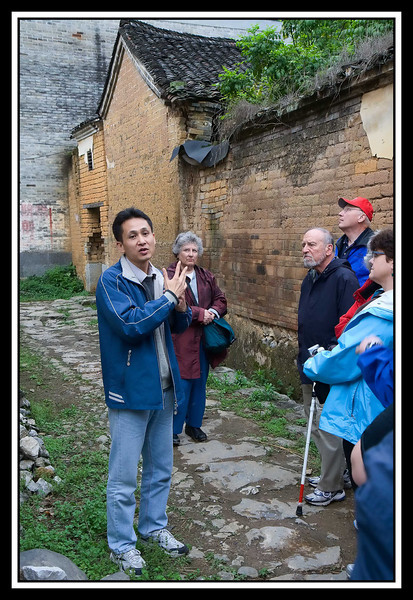 David, our local guide, talking to group...