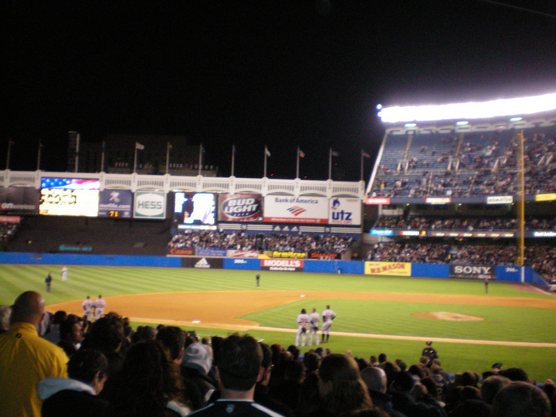 Yankee Stadium, a great park.