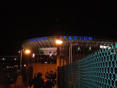 Bye Yankee Stadium!