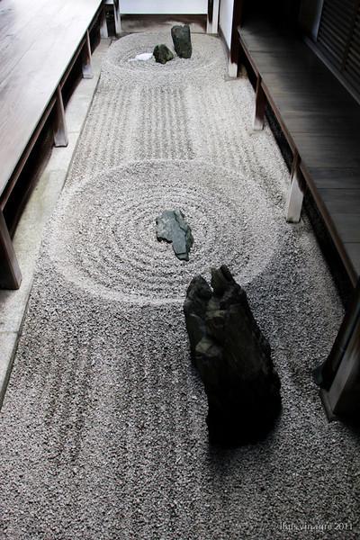 jardín zen totekiko, templo de ryogenin, daitokuji, kyoto / 東滴壷、龍源院、大徳寺、京都