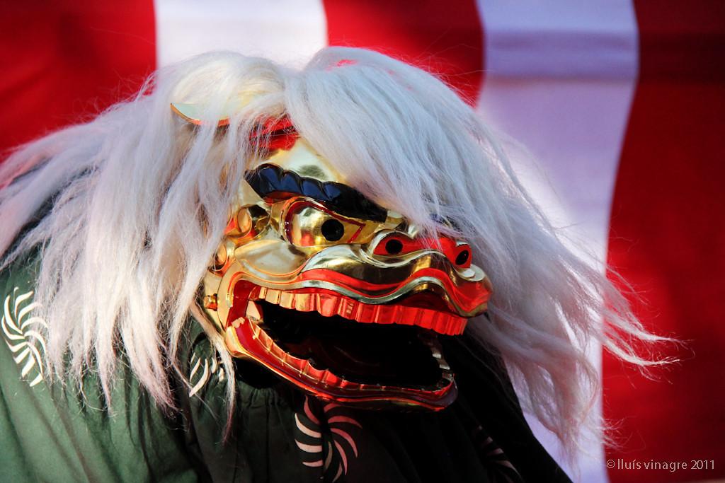 danza del león (shishi mai) / 獅子舞