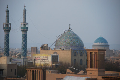 Yazd skyline