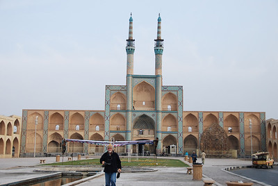 The Amir Chakmaq Complex in the central square, the main building is a takieh a building used during Shi'ite ceremonies to mourn the death of Imam Hossein.