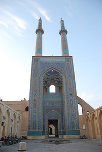 Jamah Mosque in Yazd.