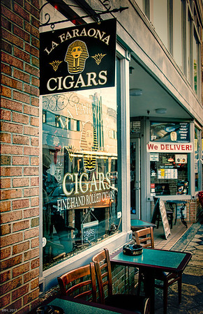 La Farona Cigar Shop in Ybor City Fl  Dec 2012