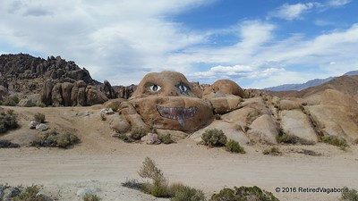 Greeter to Alabama Hills