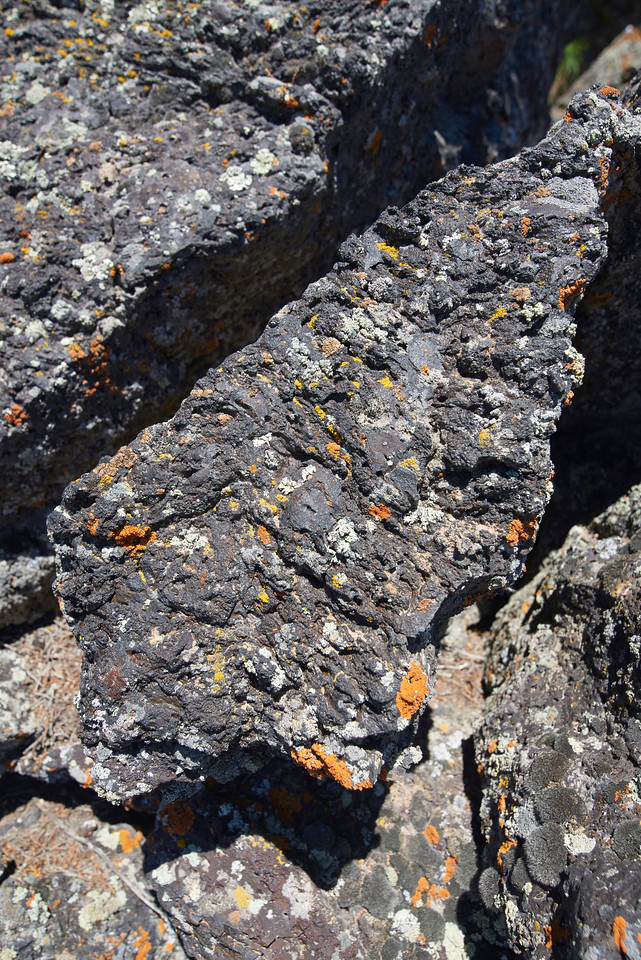 Hell's Half Acre - Basalt Detail