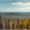 Looking South from Mt. Washburn.  <br /> Grand Canyon in middle.