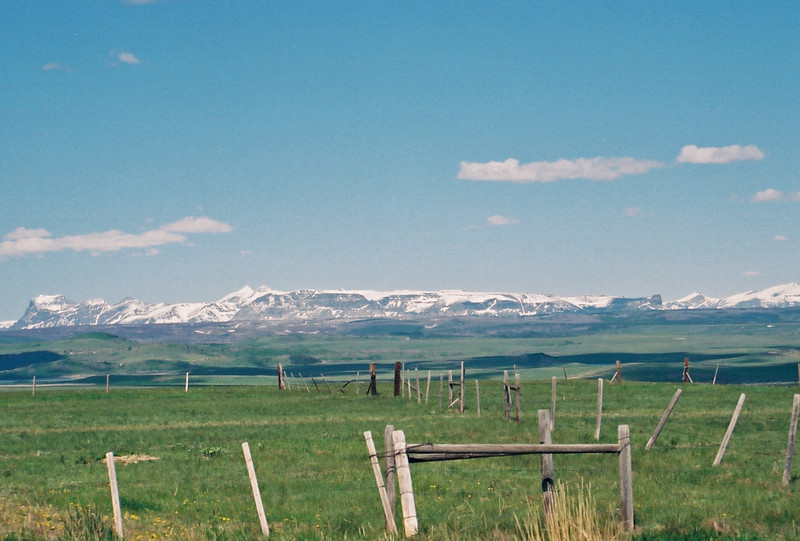 Glacier National Park from Blackfeet reservation