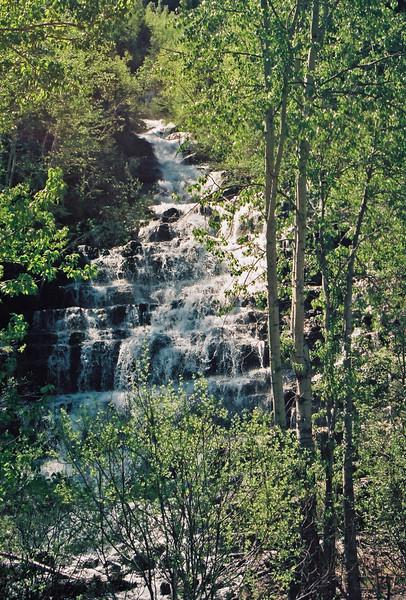 Marias Pass, Montana - waterfall