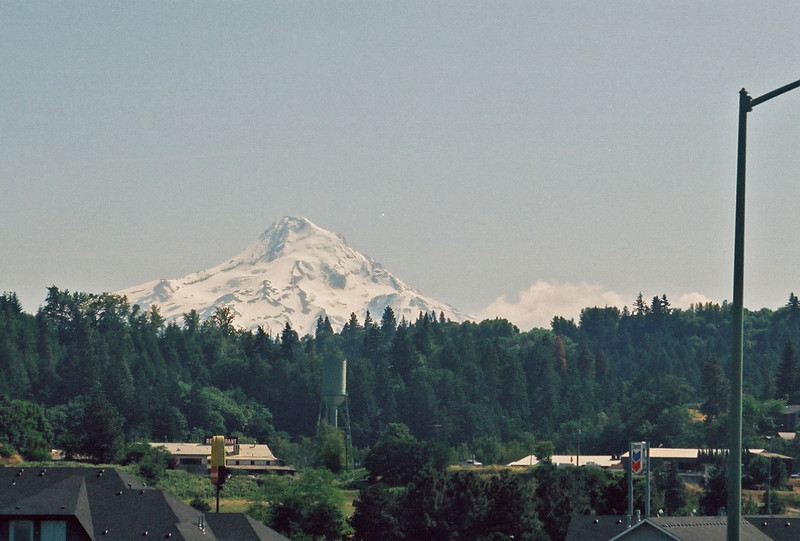Mt. Hood, from the Columbia River north shore