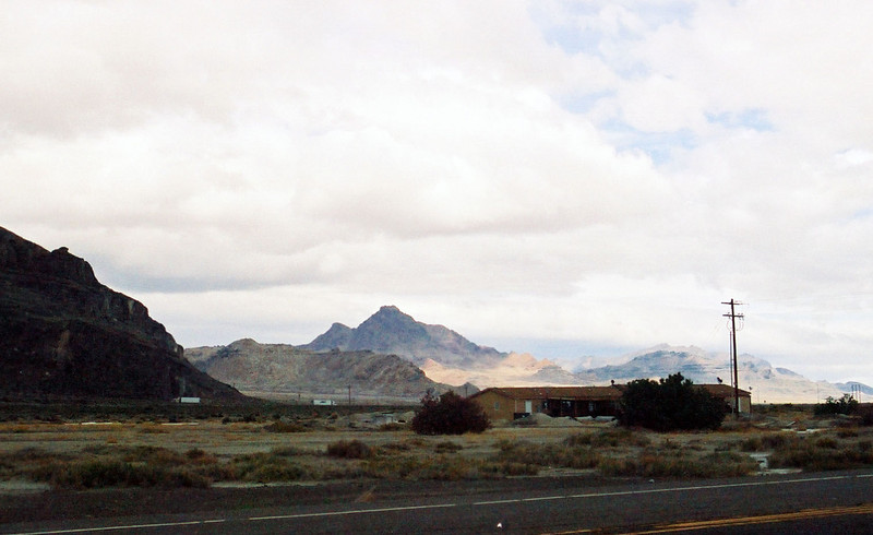 Pilot Mountain, from Wendover, Nevada
