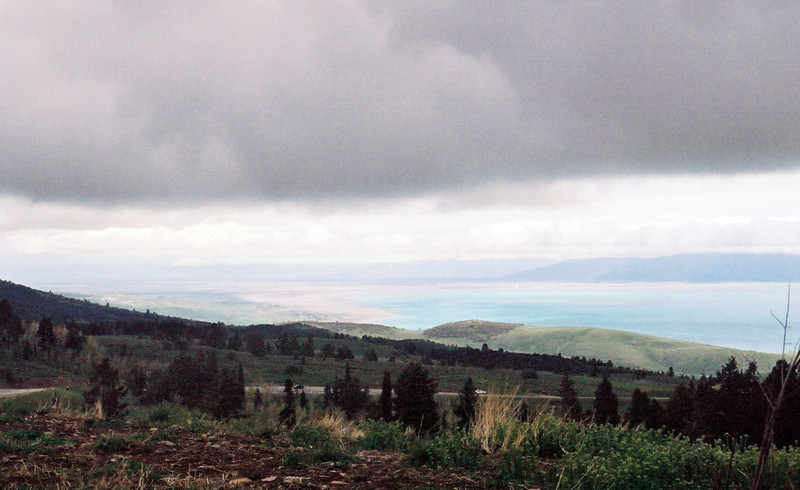 View of Bear Lake from Bear Lake Overlook
