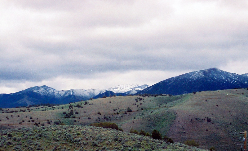 New snow in Nevada