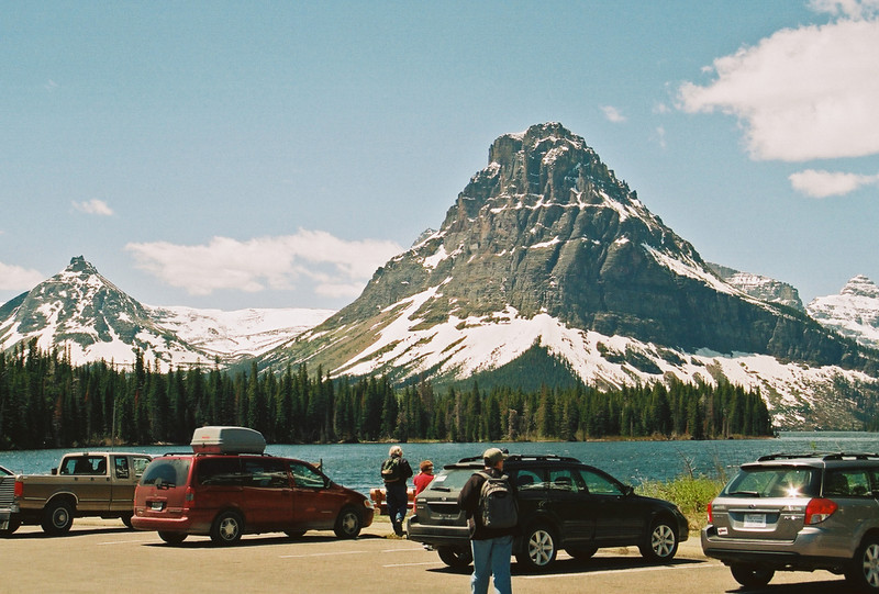 Sinopah Mountain, Two Medicine Lake