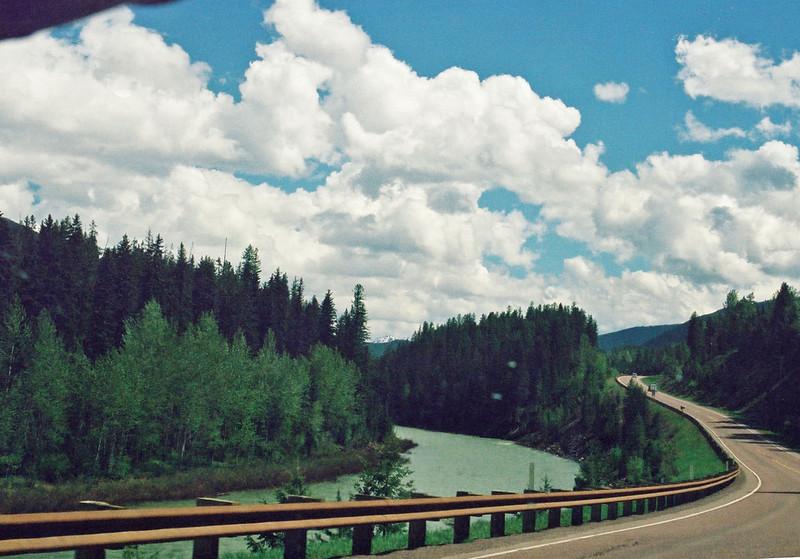 Somewhere on U.S. 2 in Montana - Flathead River?