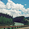 Somewhere on U.S. 2 in Montana - Flathead River?