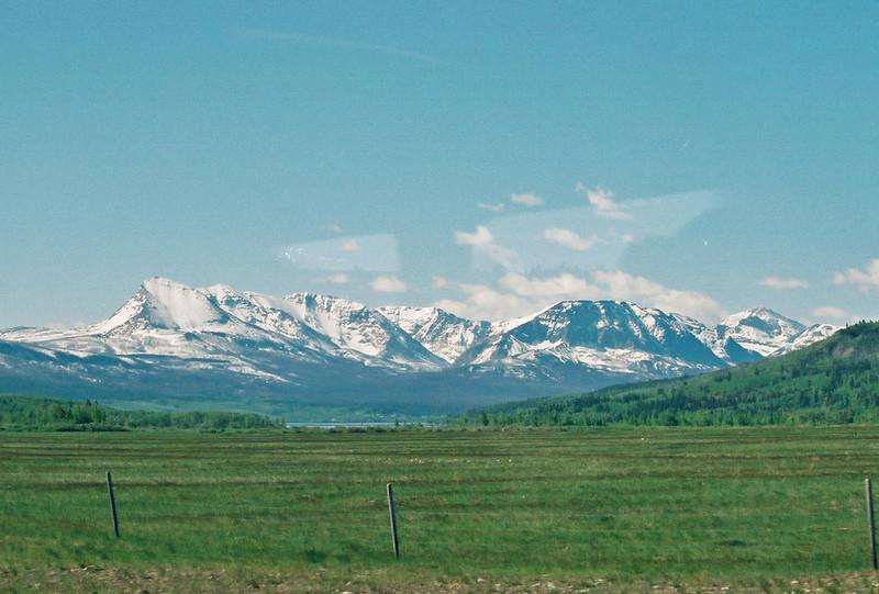 Range ends in Divide Mountain (left).