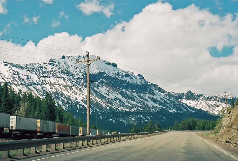 Crossing Marias Pass
