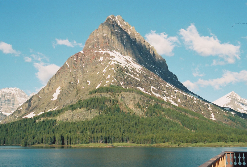 Swiftcurrent Lake, Mt. Grinnell