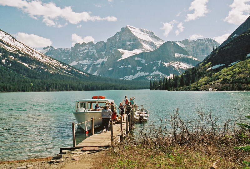 Boat dock, Josephine Lake