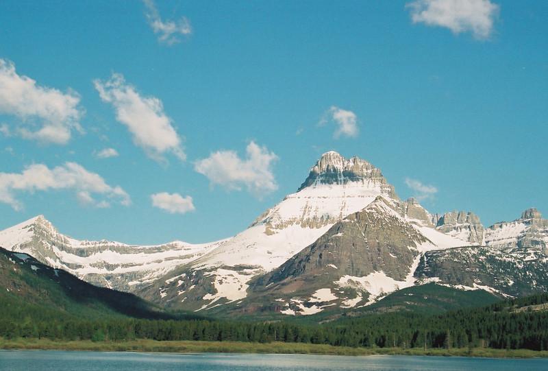 Swiftcurrent Lake, Mt. Wilbur (?)